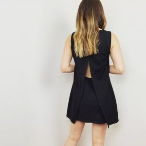 Bailey 44 Sleeveless Black Mini Dress